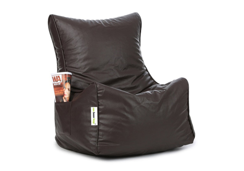 Classic bean chair xxl filled with beans in brown colour by can classic bean chair xxl filled with b lx5ziy