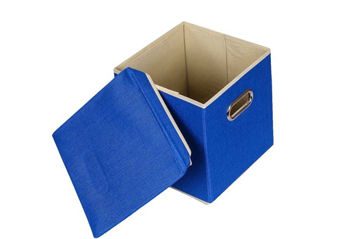 Uberlyfe cardboard 25 l blue storage boxes uberlyfe cardboard 25 l blue storage boxes rl0swt